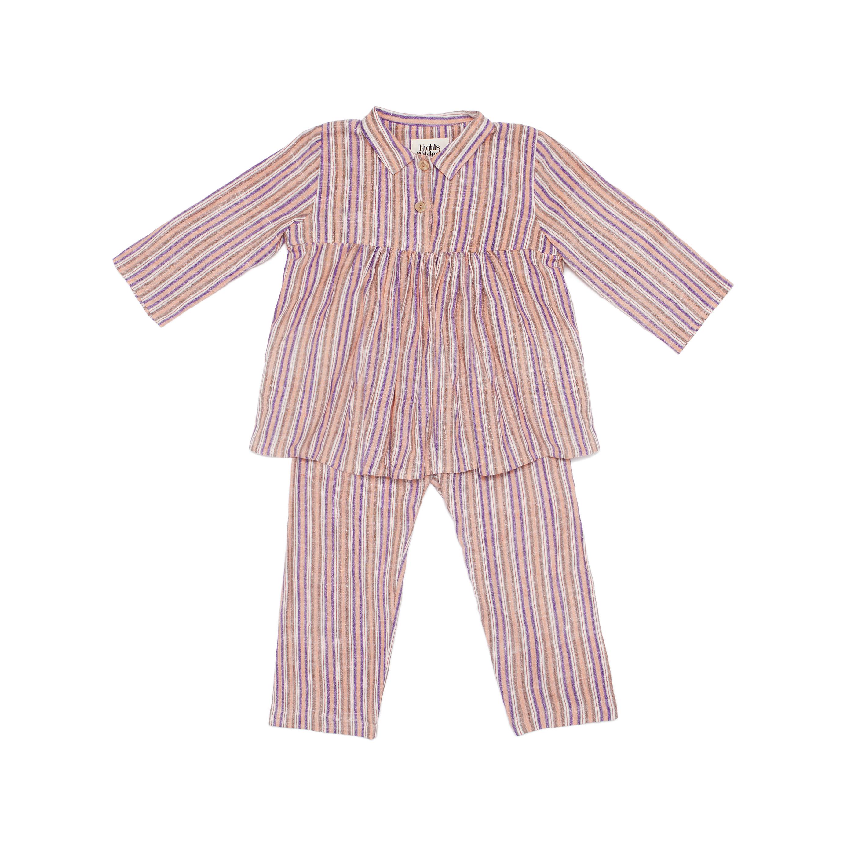 Pink striped pyjamas