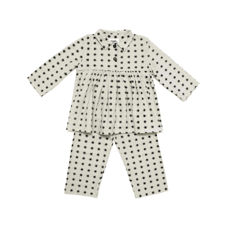 kids star christmas pyjamas